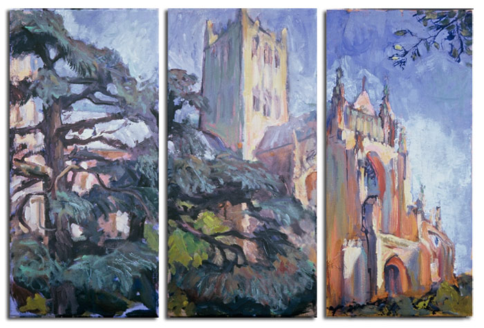 Cathedral Triptych
