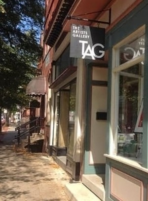 exterior of TAG, Frederick, MD